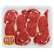 Fresh Beef Ribeye Steak Boneless Value Beef Value Pack
