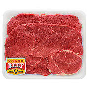 Fresh Beef Round Steak Boneless Value Beef Value Pack