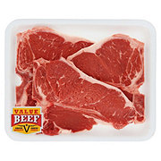 Fresh Beef T-Bone Steak Thin Value Beef