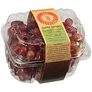 Fresh Clamshell Red Seedless Grapes