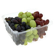 Fresh Clamshell Tri-Color Grapes