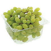 Fresh Clamshell White Seedless Grapes