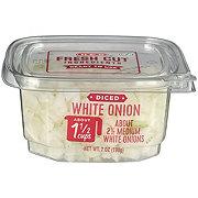 Fresh Diced White Onions