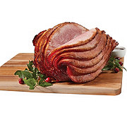 Fresh Fire Glazed Hickory Smoked Spiral Sliced Ham