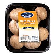 Fresh Gourmet Baby Bella Mushrooms