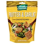 Fresh Gourmet Butter and Garlic Croutons