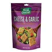 Fresh Gourmet Cheese and Garlic Croutons