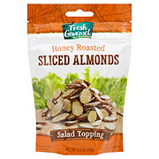 Fresh Gourmet Honey Roasted Sliced Almonds