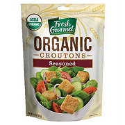 Fresh Gourmet Organic Seasoned Croutons