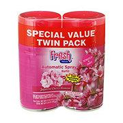 Fresh House Japanese Cherry Blossom Auto Spray Refills Twin Pack