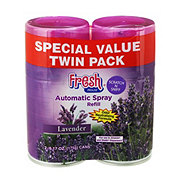 Fresh House Lavender Auto Spray Refills Twin Pack