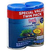 Fresh House Texas Bluebonnet Automatic Spray Refill Twin Pack