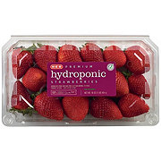 Fresh Hydroponic Strawberries
