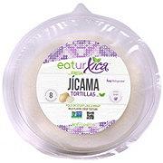Fresh Jicama Tortillas