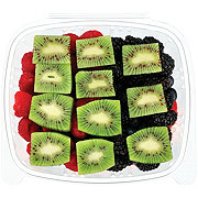 Fresh Large Mixed Berries with Kiwi