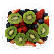 Fresh Mixed Berry Bowl With Kiwi