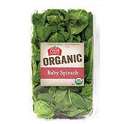 Fresh Organic Baby Spinach
