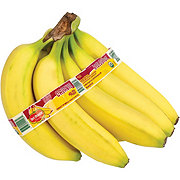 Fresh Organic Bananas, sold by the bunch (5-7 Bananas)