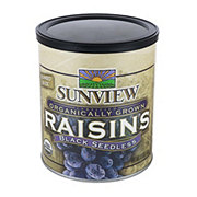 Fresh Organic Black Raisins