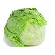 Fresh Organic Iceberg Lettuce