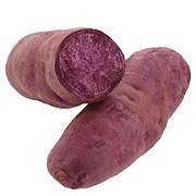 Fresh Organic Purple Sweet Potato