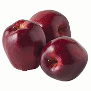 Fresh Organic Red Delicious Apples