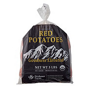 Fresh Organic Red Potatoes