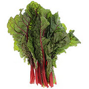 Fresh Organic Red Swiss Chard