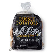 Fresh Organic Russet Potatoes
