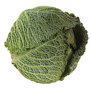 Fresh Organic Savoy Cabbage