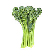 Fresh Organic Sweet Baby Broccoli Bunch