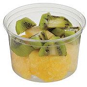 Fresh Pineapple and Kiwi Chunks