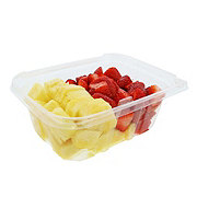 Fresh Pineapple and Strawberry Tray