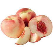 Fresh Pink Moon White Flesh Peaches