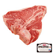 Fresh Prime 1 Beef T-Bone Steak Thick, USDA Prime