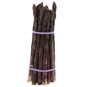 Fresh Purple Asparagus