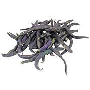 Fresh Purple Wax Beans