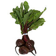 Fresh Red Beets With Tops