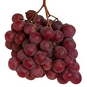 Fresh Red Seeded Globe Grapes