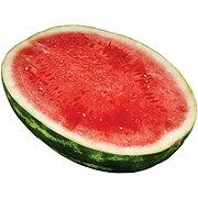 Fresh Seedless Watermelon Half