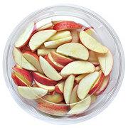 Fresh Sliced Apples Bowl