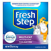 Fresh Step Multi-Cat Scoopable Scented Cat Litter