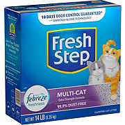 Fresh Step Scoopable Multiple Cat Scented Cat Litter
