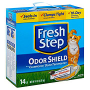Fresh Step Scoopable Odor Shield Clump Lock Cat Litter
