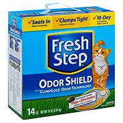 Fresh Step Scoopable Odor Shield Clump Lock Cat Litter