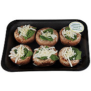 Fresh Stuffed Mushroom - Spinach Mozzarrlla
