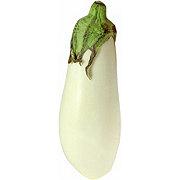 Fresh White Eggplant