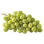 Fresh White Seedless Grapes with Amber Finish
