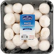 Fresh Whole White Mushrooms