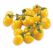 Fresh Yellow Cluster Tomatoes